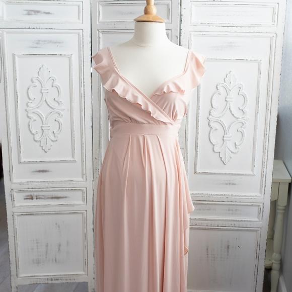c0b7d7797f257 ASOS Maternity Dresses | Soft Maxi Dress With Ruffle | Poshmark